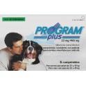 Program PLUS PERROS 23/45 Kg 6 Comprimidos desparasitar perros