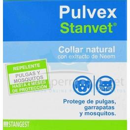 PULVEX Antparasitario Collar Repelente de insectos Collares para perros