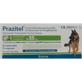 PRAZITEL XL PERROS GRANDES 20 Comprimidos desparasitar perros