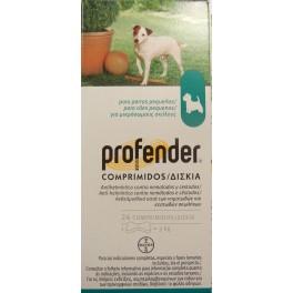 Profender Perro 3-10 Kg 24 Comprimidos desparasitar perros