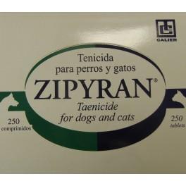 ZIPYRAN 250 COMPRIMIDOS antiparasitario para perros y gatos