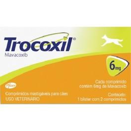 TROCOXIL 6 mg 2 Comprimidos Antiinflamatorio para perros