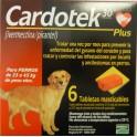 CARDOTEK-30 PLUS MARRON 23-45 Kg 6 Tabletas desparasitar perros
