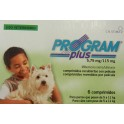 Program PLUS PERROS 5/11 Kg 6 Comprimidos desparasitar perros