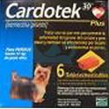 CARDOTEK-30 PLUSAZUL hasta 11 Kg 6 Tabletas desparasitar perros