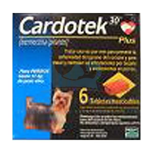 cardotek  CARDOTEK-30 PLUS 68 MCgr AZUL (hasta 11 Kg) desparasitar perros