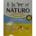 NATURO ADULT LIGHT DOG  Pollo y Arroz Tarrina 400 gramos