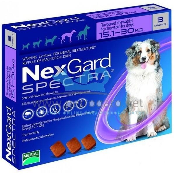 nexgard spectra masticable antiparasitario comprimidos