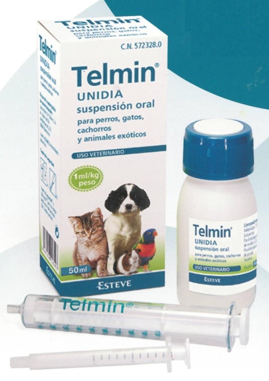 Suspension Unidia Ml Gatos Desparasitar Telmin Y 50 Perros ZTOXwPiuk