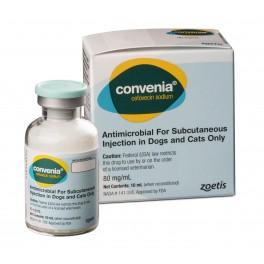 CONVENIA INYECTABLE 10 ml antibiotico larga duracion para perros y gatos