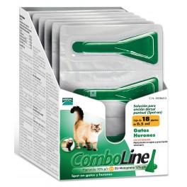 COMBOLINE GATOS Antiparasitario Externo en pipetas para gatos
