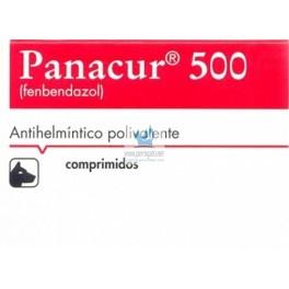 PANACUR 500 mg 10 Comprimidos desparasitar perros