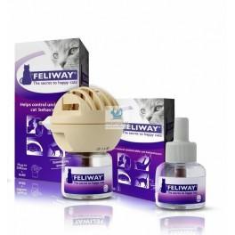 FELIWAY DIFUSOR + RECAMBIO 48 ml Feromona antiestres para gatos