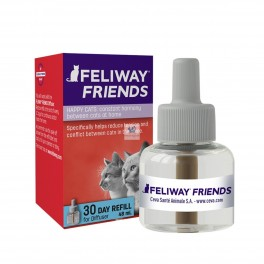 FELIWAY FIENDS Recambio 48 ml 1 Mes Feromona Antiestres para gatos