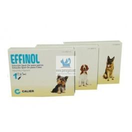 EFFINOL SPOT ON Solución en Pipetas para Perros