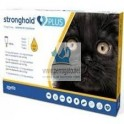 STRONGHOL PLUS GATOS 3 Pipetas para Gatos