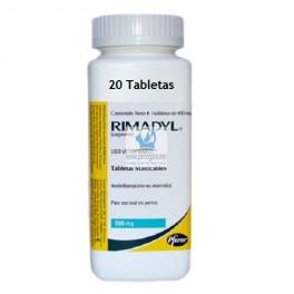 RIMADYL MASTICABLE 100 mg Comprimidos Antiinflamatorio para perros