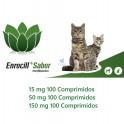 ENROCILL 100 Comprimidos Enrofloxacina Antibiotico para Perros y Gatos
