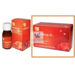 VITAMINA K1 Razas pequeñas 60 Comprimidos Vitamina para Perros y Gatos