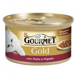 PURINA GOURMET GOLD DELICIAS 24 x 85 g Varios Sabores