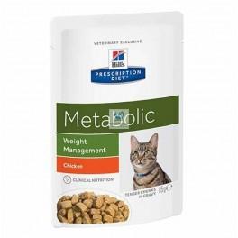 Hills Feline METABOLIC POUCH (Bocaditos) 12x85 g Comida para Gatos