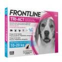 Frontline Tri-Act 10-20 Kg Antiparasitario Pipetas para perros
