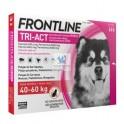 Frontline Tri-Act 40-60 Kg Antiparasitario Pipetas para perros
