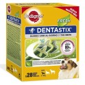 DENTASTIX FRESH 4 Cajas de 28 Sticks Snakc dental para perros