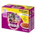WHISKAS CORE JUNIOR SELECCION 13x4x100 gr Comida para Gatos
