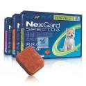 NEXGARD SPECTRA MASTICABLE  3 Comprimidos Antiparasitario para perros