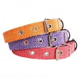 COLLAR ALGODON Varios Colores y Medidas Collares para Perros
