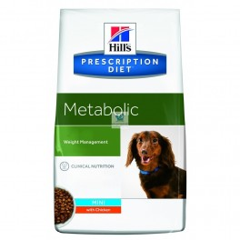 Hills Canine METABOLIC Mini Pienso para Perros