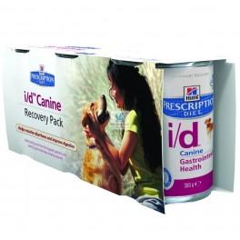 Hills Canine I/D RECUPERACION 3x360 gr Pienso para Perros con Problemas Digestivos