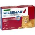 MILBEMAX gatos SABOR 2/12 KG 100 Comprimidos desparasitar gatos