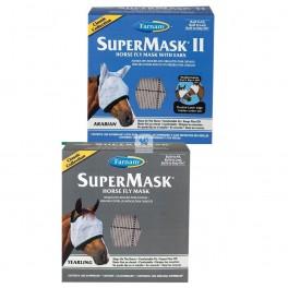 SUPER MASK II YEARLING Máscara Antimoscas para Caballos