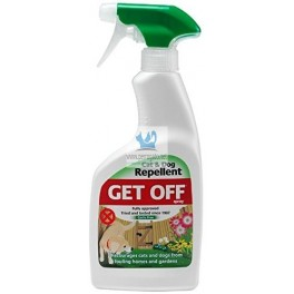 GET OFF SPRAY REPELENTE 500 ml Repelente para Perros y Gatos