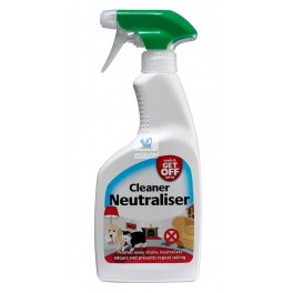 GET OFF WASH-NEUTRALISER SPRAY 500 ml Limpieza y Repelente de Perros y Gatos