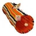 TUNEL SWISH 25 x 90 cm Juegos para Gatos
