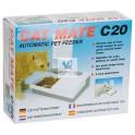 COMEDERO AUTOMATICO CATMATE 2X450 gr BLANCO Comedero para Gatos