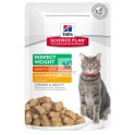 Hills Feline Adult PERFECT WEIGHT POUCH 12x85 g Comida para Gatos
