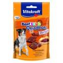 BEEF STICK QUADROS 7 x 70 g Snacks para Perros