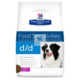 Hills Canine d/d ALLERGY&SKIN CARE PATO Y ARROZ pienso para perros