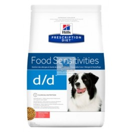Hills Canine d/d ALLERGY&SKIN CARE SALMÓN Y ARROZ pienso para perros