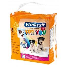 EMPAPADORES 60x60 cm 15 Unidades Higiene para Perros