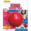 KONG BALL BISCUIT ROJA TALLA S Dispensador de comida para Perros y Gatos
