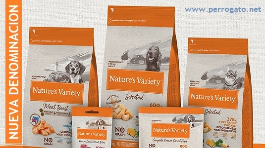 INSTINCT Cambia a NATURE´S VARIETY