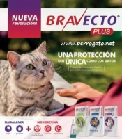 BRAVECTO PLUS GATOS ® Pipetas para Gatos