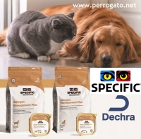 SPECIFIC ALLERGEN MANAGEMENT para Perros y Gatos