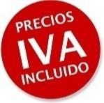 TODOS LOS PRECIOS DE LOS PRODUCTOS TIENEN EL I.V.A. INCLUIDO